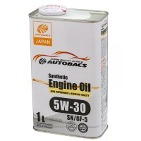 Масло AUTOBACS Fully Synthetic  5W-30 SN/CF/GF-5 (1л) синт.